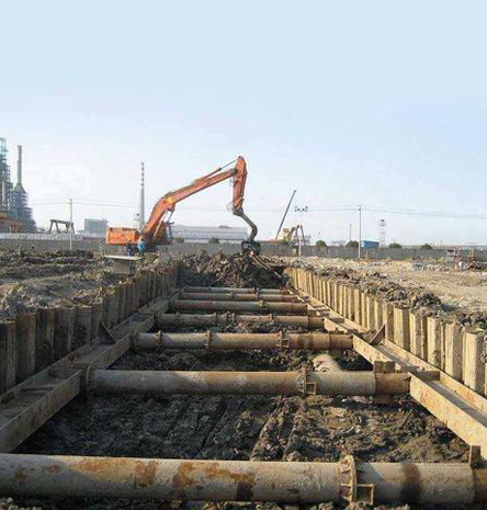 拉森钢板桩施工-钢板桩租赁